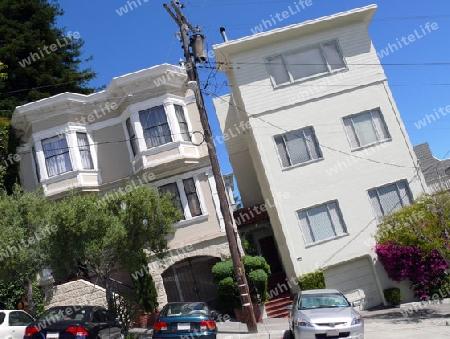 architektur san francisco schief schraeg steigung haus wohnhaus viktorianisch. Black Bedroom Furniture Sets. Home Design Ideas